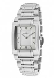 JACQUES LEMANS GU117H Women's White Diamond White Dial Stainless