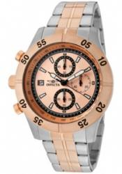 Invicta 11277 Men's Specialty Chronograph Rose Gold Dial Two