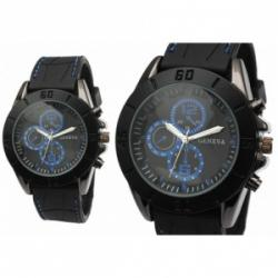 Contemporary Blue Accent Sports Watch