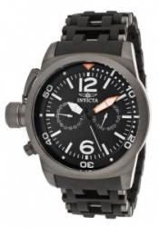 Invicta 10776 Men's Sea Spider Black Dial Black Polyurethane