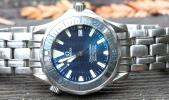 "Omega Seamaster Professional 300m ""James Bond"" Mid-Size Quartz Dive Watch $995"