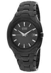 Citizen BM6015-51E Men's Black Dial Black Ion Plated St