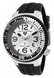 SWISS LEGEND 11044P-02S-SLB Neptune (44 mm) Silver Dial