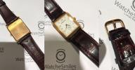 FS: Excellent Audemars Piguet Rectangular  Shape 18K Rose Gold