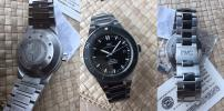 FS: Excellent IWC acqtimer 3536 Steel  Box & Papers