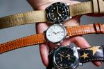 FS: Cognac Over The Top Alligator Strap + Patina Stitching for IWC