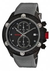 Red Line 10118DV Men's Carbon Brake Chronograph Black Dial Grey Silicone