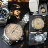 FS:Rare Discountinued IWC Split Second Rattrapante 3715 Chronograph Watch 43mm Fullset