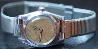 ROLEX BUBBLEBACK SS Oyster Perpetual Chronometer Circa 1944