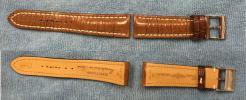 FS: Breitling OEM Croc Strap and OEM Buckle