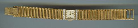 FS: GENUINE CONCORD LADIES 17J 14K YELLOW GOLD DIAMOND WRISTWATCH