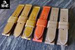 FS: Custom Vintage Leather Straps for Panerai 24mm - Only 1 Piece Each - Ready to Ship