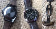 FS: Mint PANERAI PAM196 Daylight Chronograph 44mm Black Box & Paprs