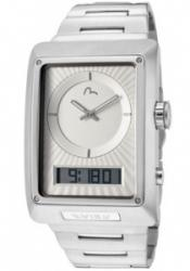 Evisu 7014-22 Men's Shinzo Ivory Analog-Digital Dial Stainless Steel