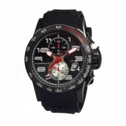 Morphic 0403 M4 Series Black IP Professional Chronograph Mov