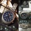 FS:Ltd 500pcs Sinn 142 D1 Spacelab Mission Titanium Lemania 5100 Chronograph Watch 44mm Fullset