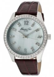 Kenneth Cole KC2767 Women's White Mother Of Pearl Dial Purple Gen