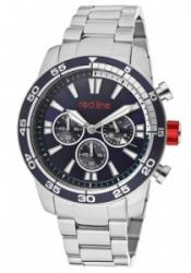 Red Line 60007 Men's Cruiser Chronograph Navy Blue Dial Stai