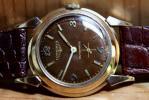 Vintage Longines Calibre 19A Automatic w/Original Hobnail Textured Dial $350