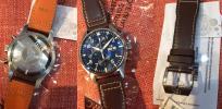FS: BNIB IWC IW377714 Le Petit Prince blue Dial Chronograph